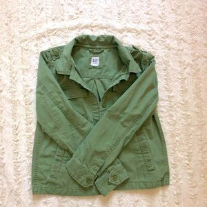 💚Green Gap Kids  Army Jacket💚
